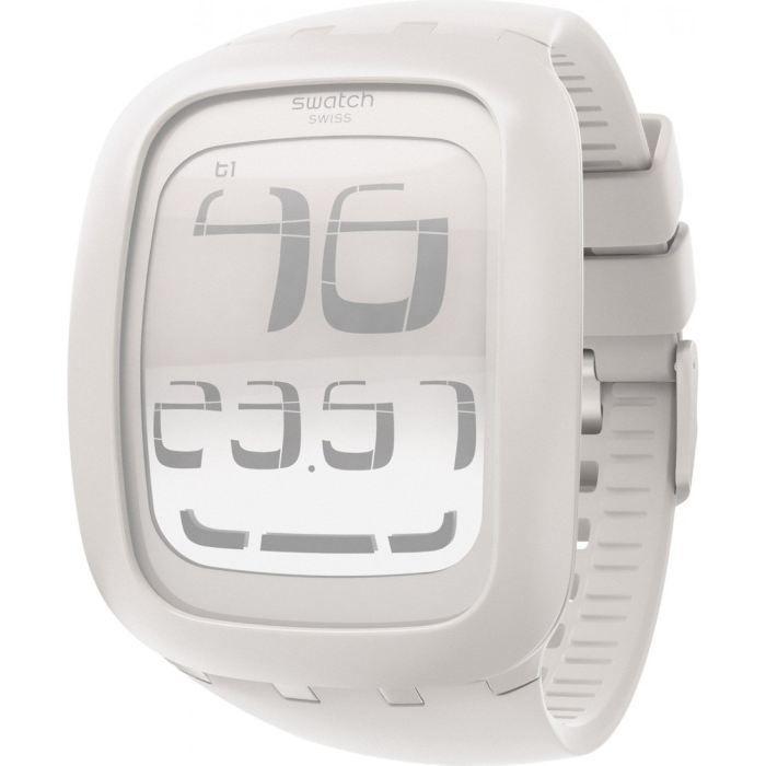 montre swatch touch white cran tactile surw100 u blanc tendance achat vente montre cdiscount. Black Bedroom Furniture Sets. Home Design Ideas