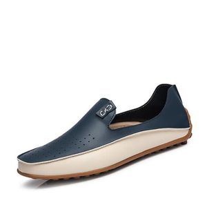 Mocassin Hommes Mode Chaussures Grande Taille Chaussures DTG-XZ73Bleu39 R87xQ3