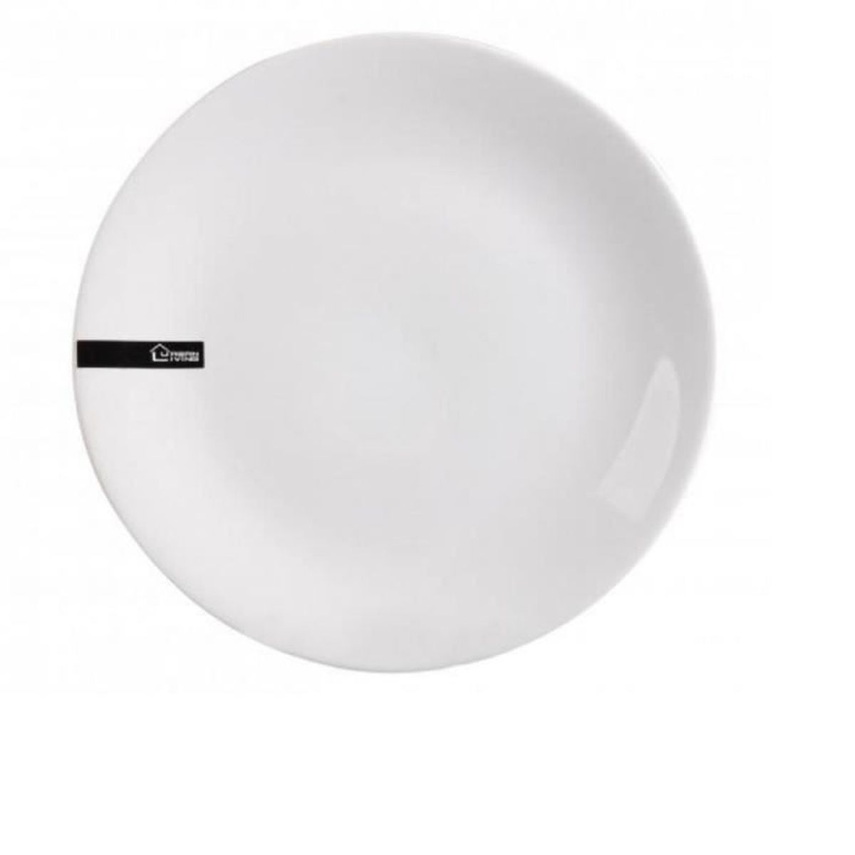 assiette plate 25 cm. Black Bedroom Furniture Sets. Home Design Ideas
