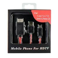 CÂBLE TÉLÉPHONE Mgs33 Câble MHL Micro USB HDMI TV FullHD ( compati