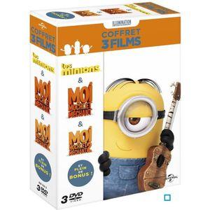 DVD DESSIN ANIMÉ DVD Coffret Les Minions + Moi, moche et méchant 1