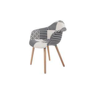 CHAISE Chaise rembourrée patchwork