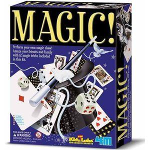 JEU MAGIE Coffret de jeux de magie  de 12 tours de magie Enf
