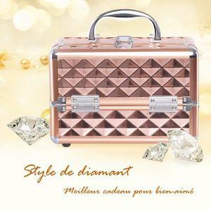 TROUSSE DE MAQUILLAGE COSTWAY Mallette de Maquillage Valise de Maquillag