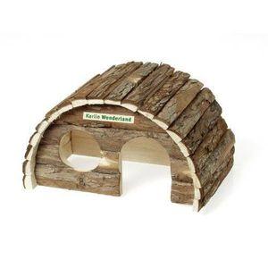 ACCESSOIRE ABRI ANIMAL Karlie 84369 Maison pour rongeur en bois Sam 3 dim