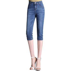 Pantacourt femme en jean - Achat   Vente Pantacourt femme en jean ... 165beb45c78c