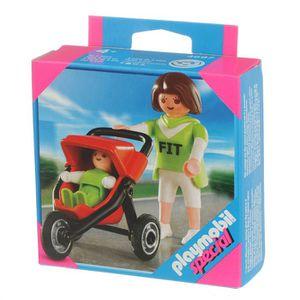 UNIVERS MINIATURE Playmobil Maman Avec Bébé