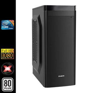 UNITÉ CENTRALE  PC de Bureau, Intel i7 4x3.40Ghz, 8Go RAM