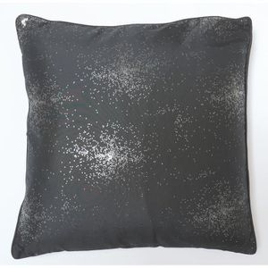 COUSSIN SOLEIL D'OCRE Coussin impression argent Strass 40x