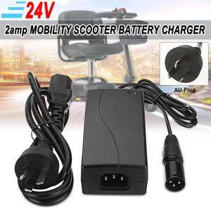 CHARGEUR BATTERIE VÉLO 24V 2A Scooter Électrique Chargeur De Batterie Ada
