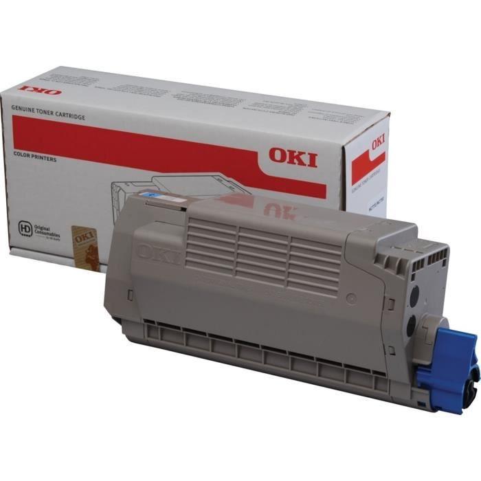 OKI Cartouche de toner MC760 MC770 MC780 - cyan - Capacité standard 6.000 pages