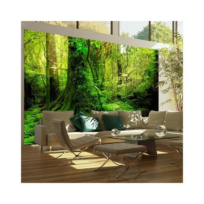 papier peint jungle dimension 200x154 achat vente papier peint papier peint jungle. Black Bedroom Furniture Sets. Home Design Ideas