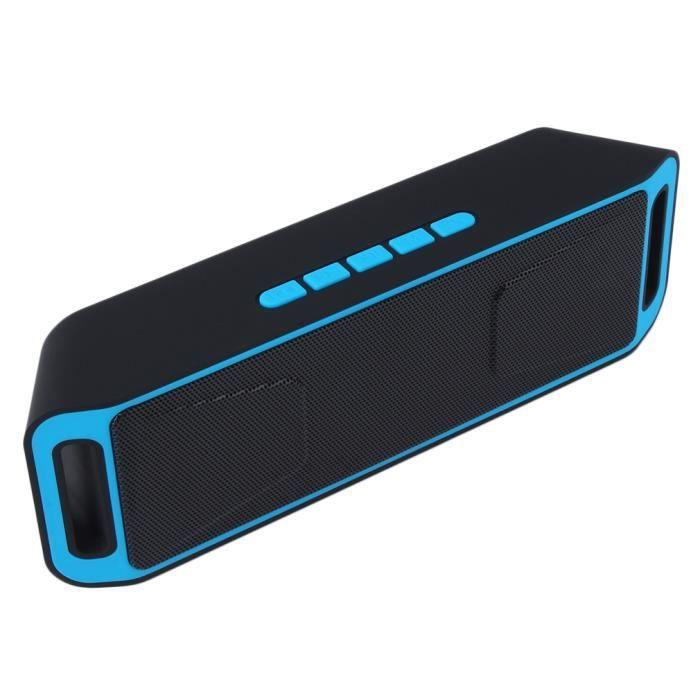 Parleur Sans Fil Bluetooth Portable Lourd Basse W - Fm Pour Smart Phone Et Tablet