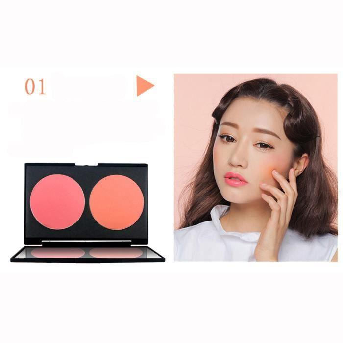 FARD A JOUE - BLUSH NOVO Blush Palette Visage Maquillage Cuit Joue Cou