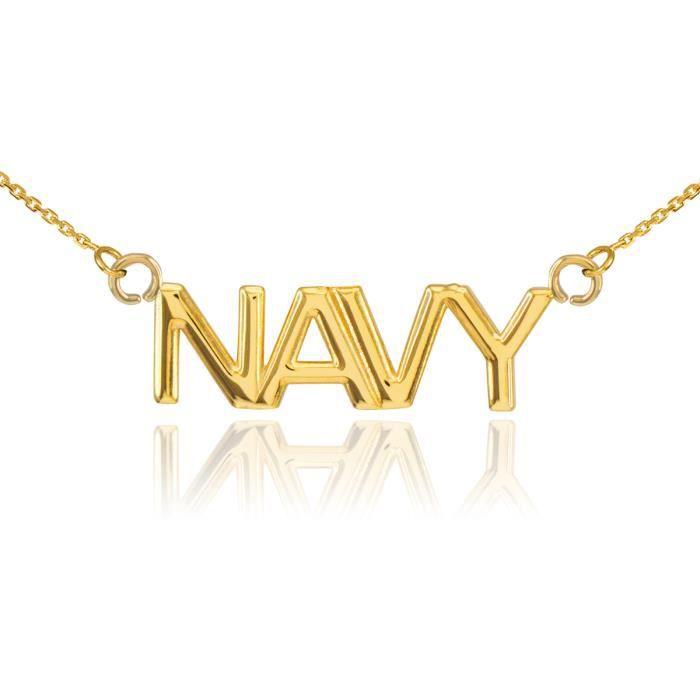 Pendentif 14 ct 585/1000en or Navy Ye7s4j