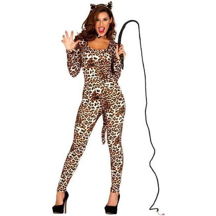 deguisement femme leopard