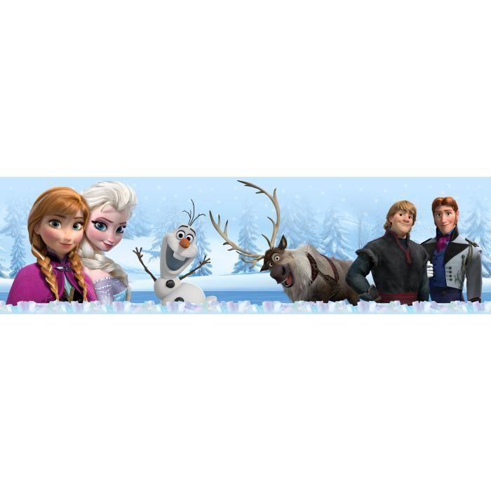 Frise Murale Adhesive La Reine Des Neiges Frozen Achat Vente