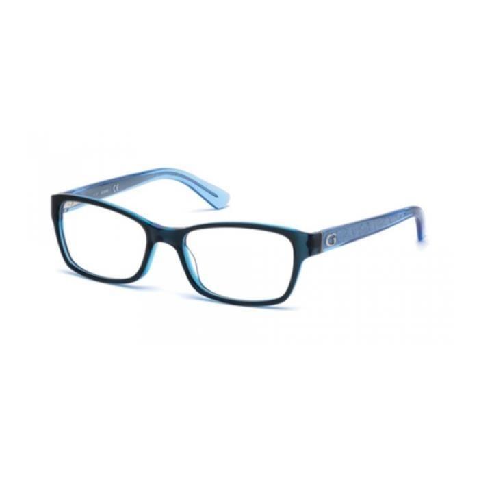 Monture lunettes Guess GU2591 BLUE GLOW (090) - Achat   Vente ... 4c03c1273654