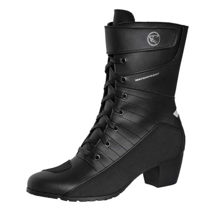 bottes moto femme bering tera achat vente chaussure botte bottes moto femme bering te. Black Bedroom Furniture Sets. Home Design Ideas