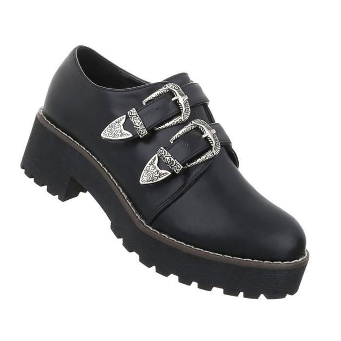 Chaussures femmes flâneurs moderne noir 40