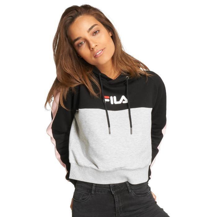 le meilleur découvrir les dernières tendances meilleures offres sur FILA Femme Hauts / Sweat capuche Urban Line Noir - Achat ...