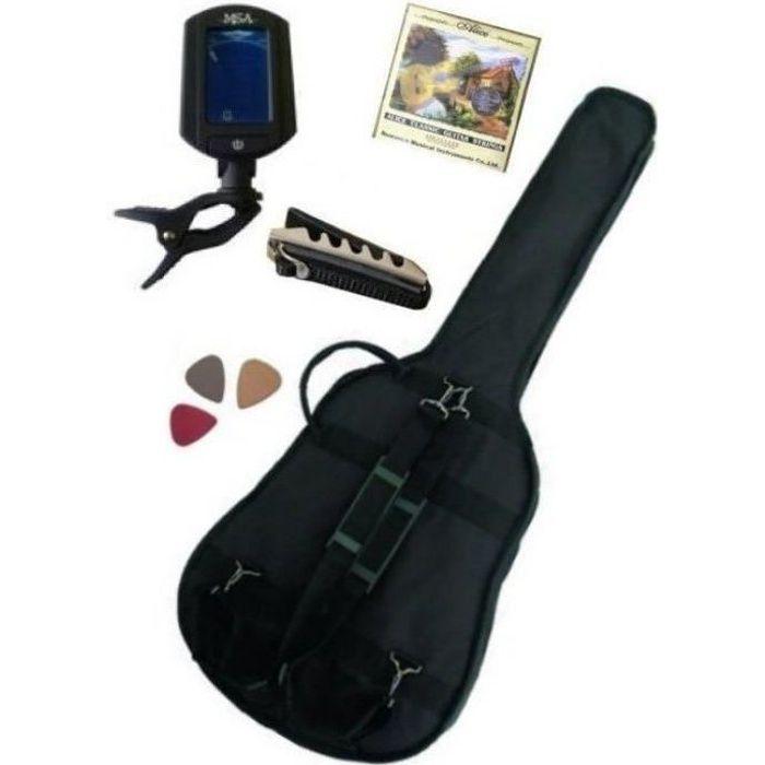 Housse guitare classique 4 4 pas cher achat vente for Housse guitare classique