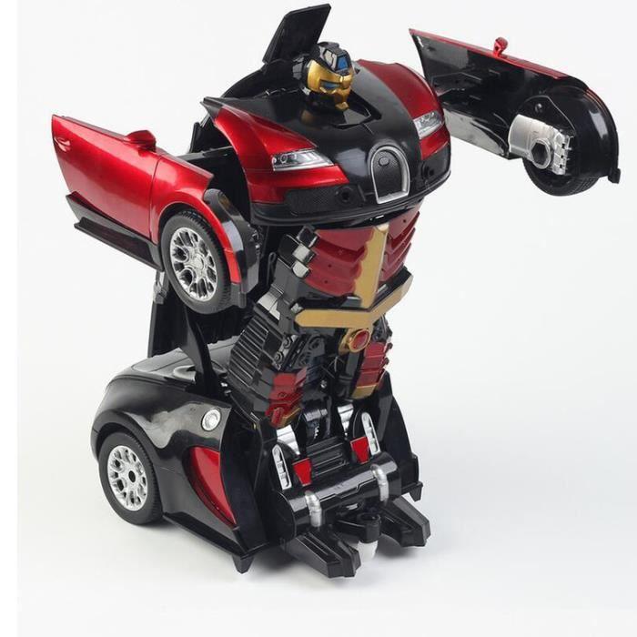 Rtr Rouge Électrique Jouets Bugatti Enfants Les Pour Stoex® Véhicule Transformers CxBdshQtro