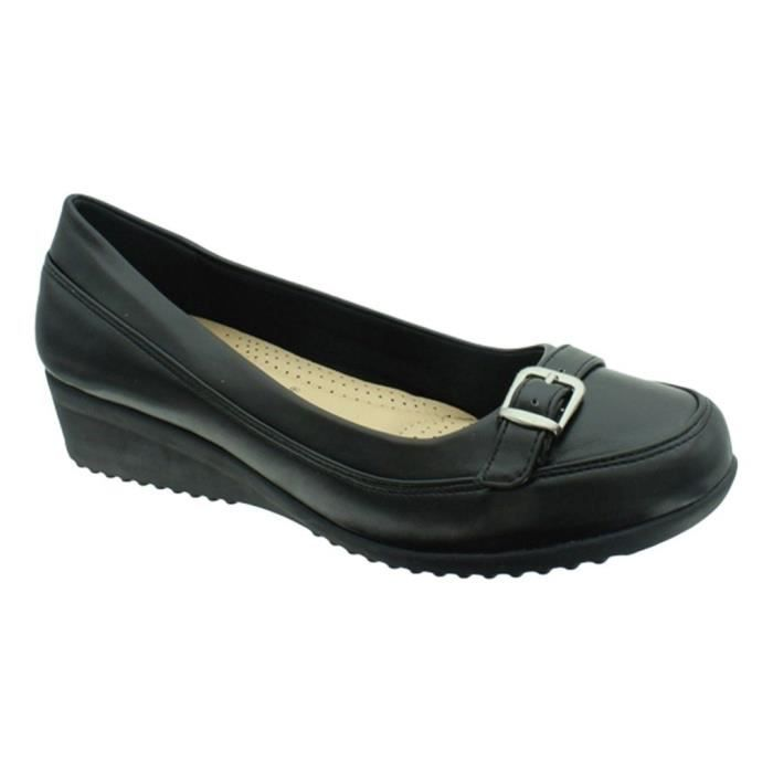 Relax-8 Vegan Leather Slip-on Loafer With Decorative Buckle Z4CNV Taille-39
