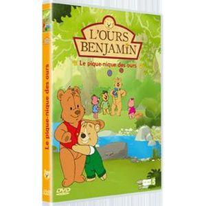 DVD DESSIN ANIMÉ DVD L'ours Benjamin : le pique-nique des ours