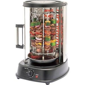 Machine à kébab Grill tournant fermé pour kebab Megadif