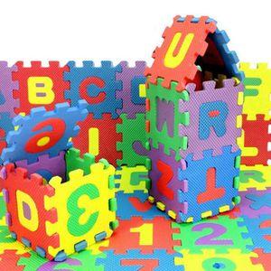 PUZZLE 36pcs bébé Nombre d'enfants Alphabet Puzzle en mou