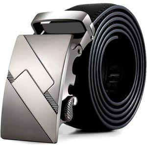 CEINTURE ET BOUCLE les hommes en cuir automatique ceintures boucle ce