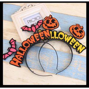 CASQUE DE COIFFURE Lot de 4 Halloween coiffure aile de chauve-souris