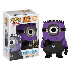 FIGURINE - PERSONNAGE Figurine Moi moche et Méchant - Purple Carl SDC...