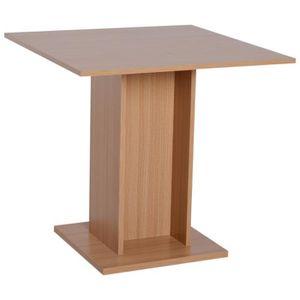 TABLE À MANGER SEULE Table de cuisine bistrot carré design contemporain