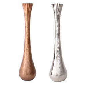 vase en aluminium nickel argent achat vente vase soliflore cdiscount. Black Bedroom Furniture Sets. Home Design Ideas