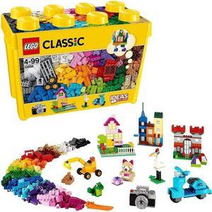 ASSEMBLAGE CONSTRUCTION LEGO® Classic 10698 Boîte de Briques de Création D
