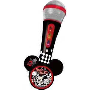 INSTRUMENT DE MUSIQUE MICKEY Microphone avec amplificateur - Mélodies et
