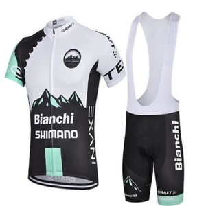 MAILLOT - POLO DE SPORT Bianchi Maillot de Cyclisme Manches Courtes + Cuis