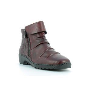 BOTTINE Boots en cuir femmes RIEKER - Z6083-35