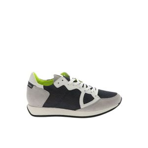 BASKET PHILIPPE MODEL HOMME MNLUNF06 MULTICOLORE CUIR BAS