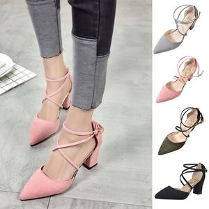 f3287bf07d2a55 ESCARPIN Casual Toe Pointu femmes Fashion Square chaussures