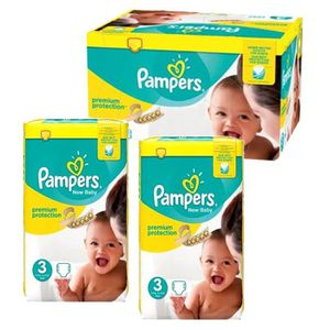 COUCHE 150 Couches Pampers premium protection taille 3 ai