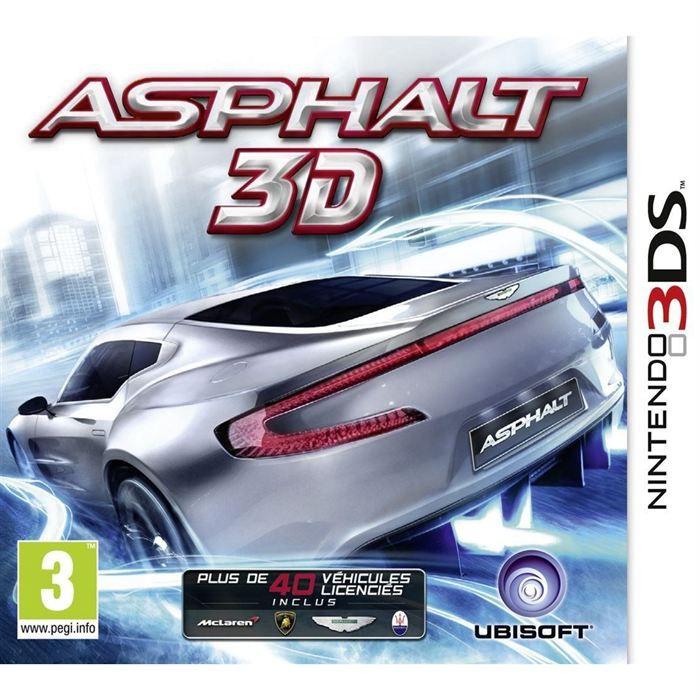 asphalt 3d jeu console 3ds achat vente jeu 3ds asphalt 3d jeu console 3ds cdiscount. Black Bedroom Furniture Sets. Home Design Ideas
