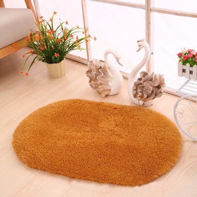 TAPIS YHL60803181KH@Mouse Oval Memory bain mousse salle
