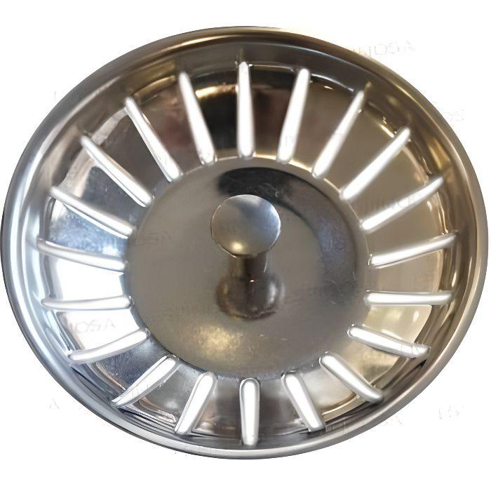 Panier pour bonde d 39 evier blanco diametre 83mm inox - Bonde d evier ...