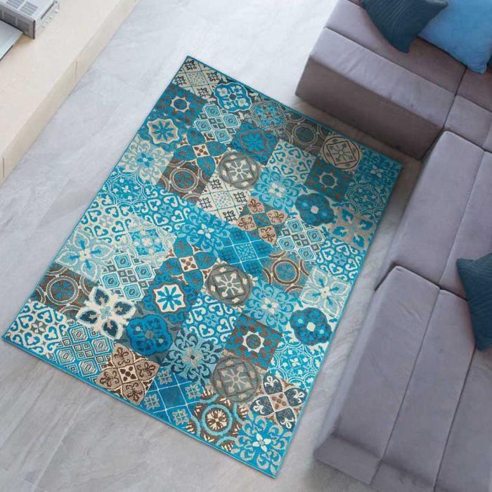 Tapis Carreaux De Ciment Achat Vente Pas Cher - Carrelage pas cher et tapis motif aztèque