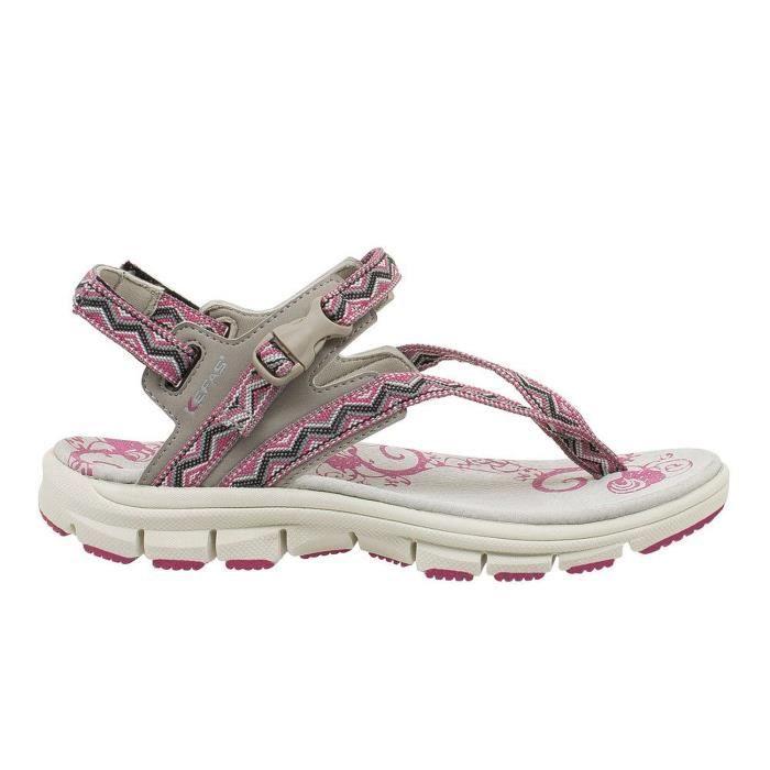 3c0f2c7625a Sandale de Marche Femme ISIDE - KEFAS Violet - Achat   Vente sandale ...