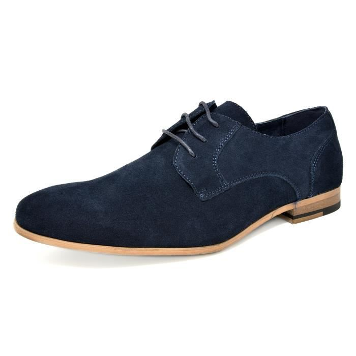 Bruno Marc Constiano-1 Suede Oxfords Chaussures en cuir WTHRF Taille-42