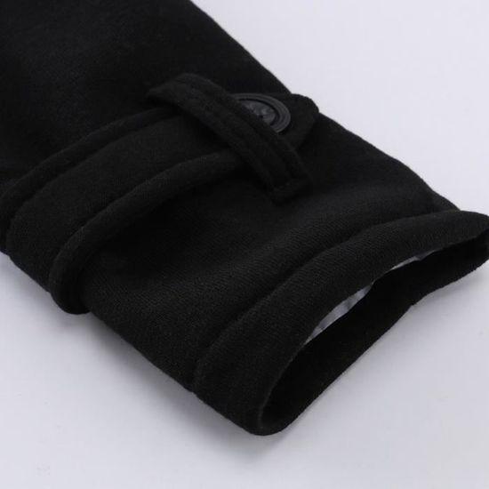 Noir Gardez Outwear Long Coupe Les Laine Reservece vent Trench Femmes Veste Chaud Manteau Slim XYAOnwTq